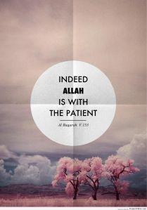 Allah SWT selalu bersama orang-orang yang senantiasa bersabar dan menjalankan sholat.
